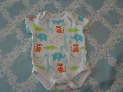 Gymboree Baby Boy or Girl Darling One Piece w/Animals Size NB/0 mo Super Cute!!