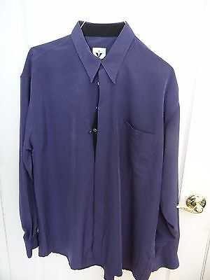 Vintage European designer Shirt 1990s XL - Very unique