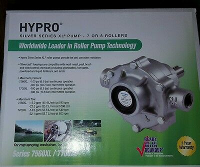 Hypro Pump With Super Rollers And Vinton Seal, 7560Xl, Silver Series