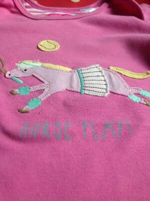 Joules Pink Long Sleeved T-shirt 18-24 Months