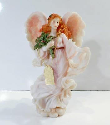 "1997 Seraphim Classics NOELLE ""GIVING SPIRIT"" Angel Figurine by Roman Inc #78120"