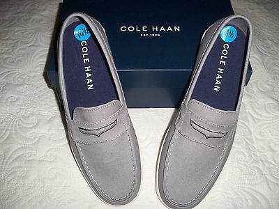 Cole Haan Men's Canvas Penny Loafers 10.5M