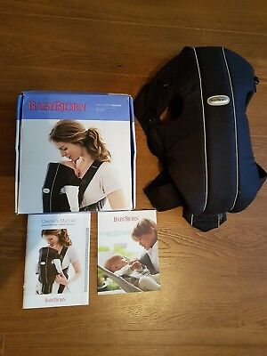 Baby bjorn carrier original, boxed, instructions included. Excellent condition