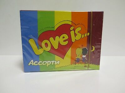 LOVE IS... Assorted FRESH Mix bubble chewing gum 100 PCS NEW & SEALED BOX !!!