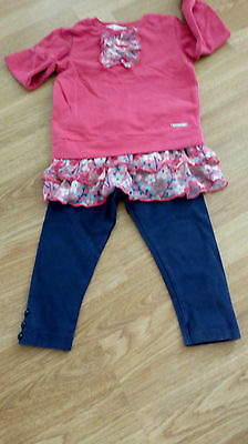 Baby Girls Little Rocha Top And Leggings Set  Age 12-18 Months