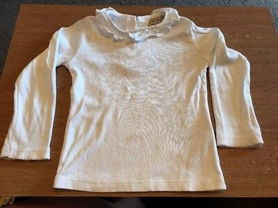 GIRLS WHITE TOP By Next - Age 18-24 Months