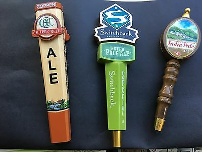 Vermont Beer Tap Handles - Lot of 3