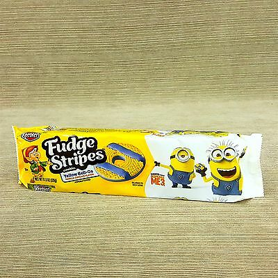 Keebler Fudge Stripes Cookies Yellow Bell-Os Vanilla Cupcake Despicable Me 3