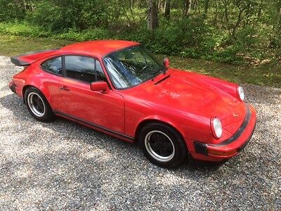 1988 Porsche 911 red 88 Porsche 911 carrera No Reserve !!!