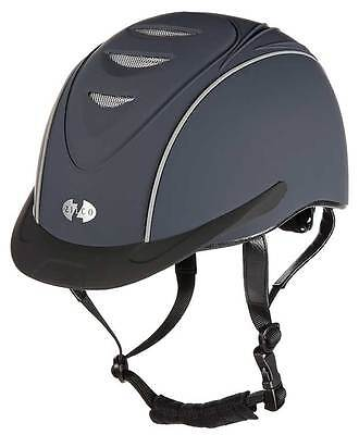Zilco Oscar Select Navy Safety Helmet Carriage Driving Riding Hat