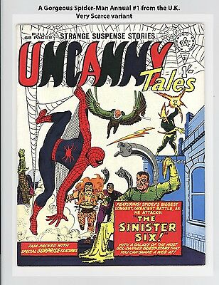 Amazing Spider-Man Annual #1 High Grade - Uncanny Tales Uk Edition - Rare