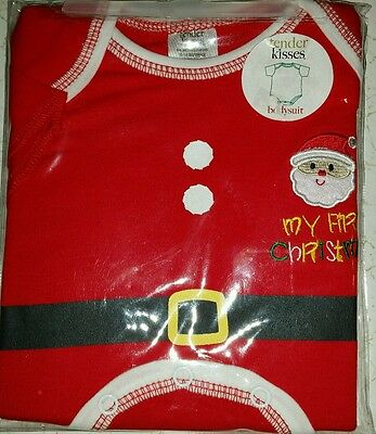 Baby's first Christmas bodysuit size 0-6 months