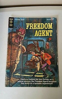 Freedom Agent Gold Key 1963 Comic book