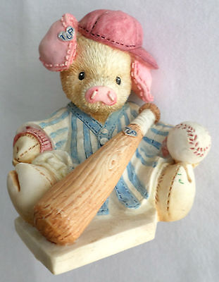 This Little Piggy Figurine Cried Wee! All the Way Home, Baseball