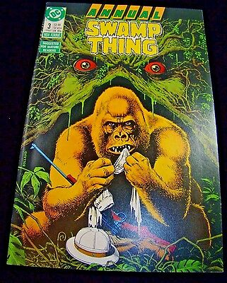 Swamp Thing Annual #3  Dc  1987