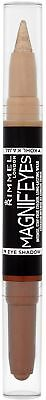 Rimmel London Magnif'eyes Double Ended Shadow And Liner, Queens Of The Bronzed