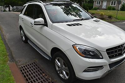 2013 Mercedes-Benz M-Class  2013 Mercedes-Benz M-Class ML 350 BlueTEC AWD 4MATIC 4dr SUV No Reserve!!!