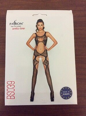 Passion Body Stocking Red