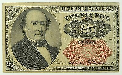 25C Twenty Five Cent 5th (Fifth) Issue Fractional Currency
