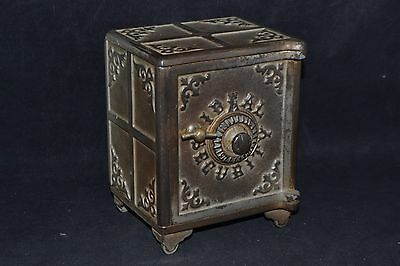 Antique 1903 Ideal Security still bank  ND2968