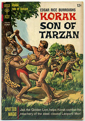 KORAK, SON OF TARZAN #15 1966 Gold Key GD
