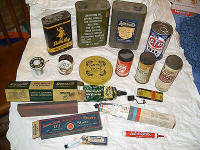 Vintage Lot Litho Great Graphics! Dutch Boy Linseed Oil Stain Converse fix-tite