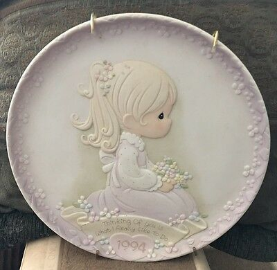 Precious Moments 1994 Mother's Day Series Plate