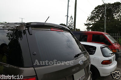 Ford Territory Sx Sy Sy Ii 2004-2009 Rear Roof Dust Deflector Spoiler Wing Visor