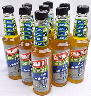 Gumout Diesel Fuel Treatment 10-oz Bottle Injector Cleaner BioDiesel-Safe NEW