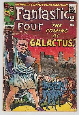 Fantastic Four #48 Key! 1st appearance & Origin of Silver Surfer & Galactus!