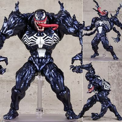 "Marvel Universe Play Arts Spider-man Venom Action Figure Toys 6"" PVC Statue Hot!"