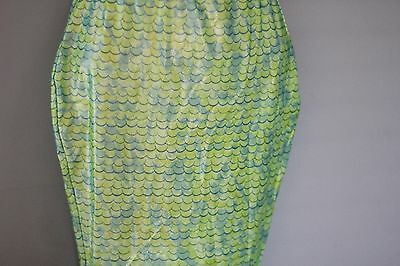 Justice MERMAID TAIL sz L  Nice, never worn!!