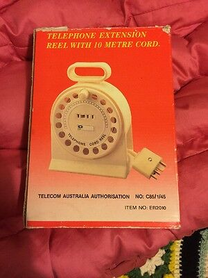 telephone extension cord Vintage, Oldstyle