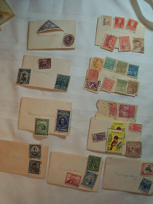 Vintage postage stamp lot from South America