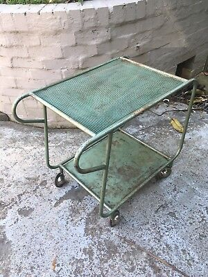 Vintage Industrial Metal Book Trolley at the Snowy Mountain Scheme  1949-74
