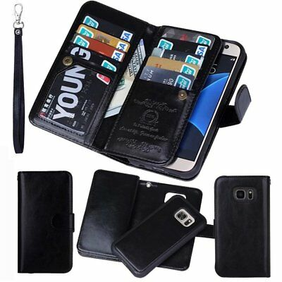 Luxury Practical Magnetic PU Leather Flip Wallet Case Cover for Samsung Note 5