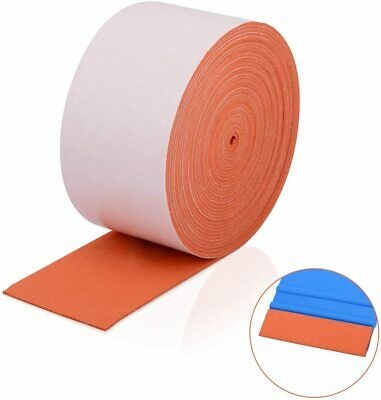 500CM Suede Felt For 3m squeegee Scratchless Soft Suede Edge window tint tools