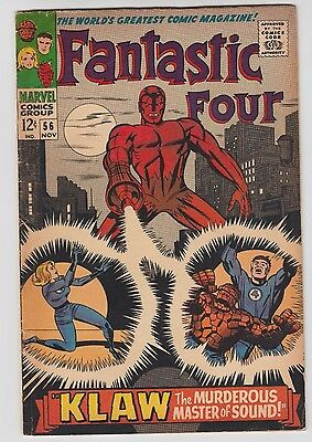 Fantastic Four #56 Hot! MCU, 2nd app. of the Klaw! Silver Surfer! Ships Next Day