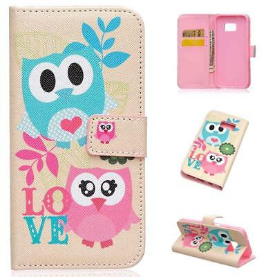 Luxury Card Holder Wallet Flip PU Leather Phone Case Cover For Samsung Galaxy S7