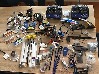 Blade SR RC Helicopter With 100s Of Spares