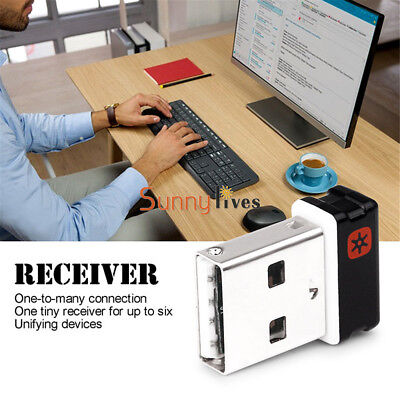 For Logitech Unifying USB Receiver Dongle 6 Devices Performance Mouse Keyboard
