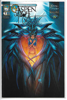 Michael Turner Presents Aspen #3 SIgned by Michael Turner Retailer Incentive NM