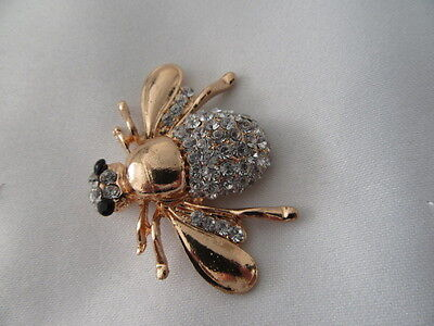 Vintage Brooch Sale  The  Gold Tone  Bee