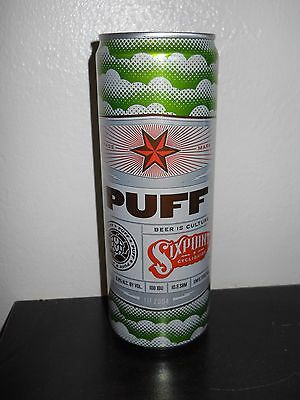 Sixpoint Brewing ~ PUFF ~ SKINNY BEER CAN ~ NY Craft Brewery ~ Mad Scientists