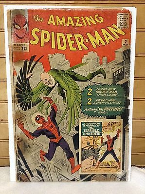 The Amazing Spider-Man #2 (GD-/1.8) 1st Vulture comic
