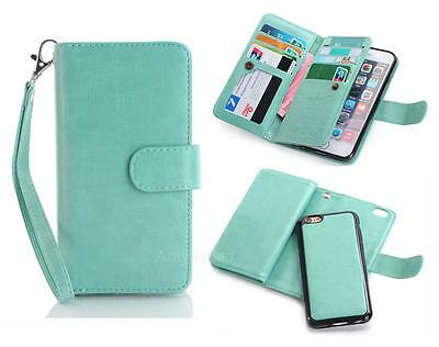 Luxury Magnetic Flip Cover Stand Cards Wallet PU Leather Case For iPhone 6 6s