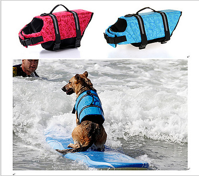 Dogs Life Jacket cute Outdoor Swimming Suit Summer Clothes Pet Safe Bathing Suit