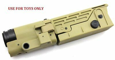 Toys Retractable Folding Stock DE for Airsoft M Series / SR25 AEG (ST-0006B)