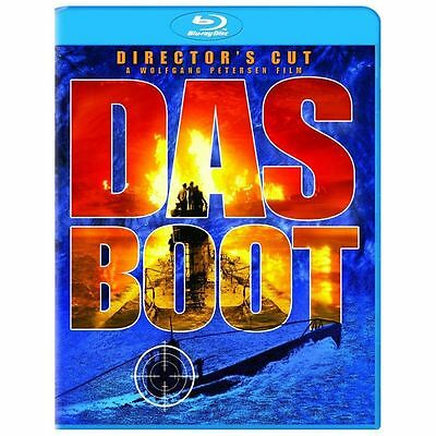DAS BOOT New Sealed Blu-ray Director's Cut
