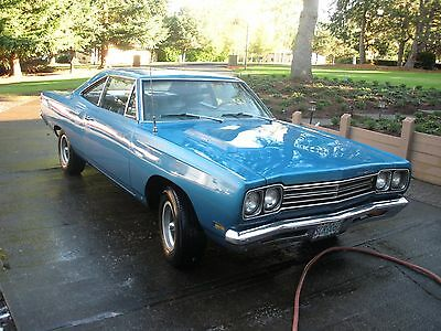 1969 Plymouth Road Runner  1969 Plymouth Roadrunner 4-Speed Big Block 383